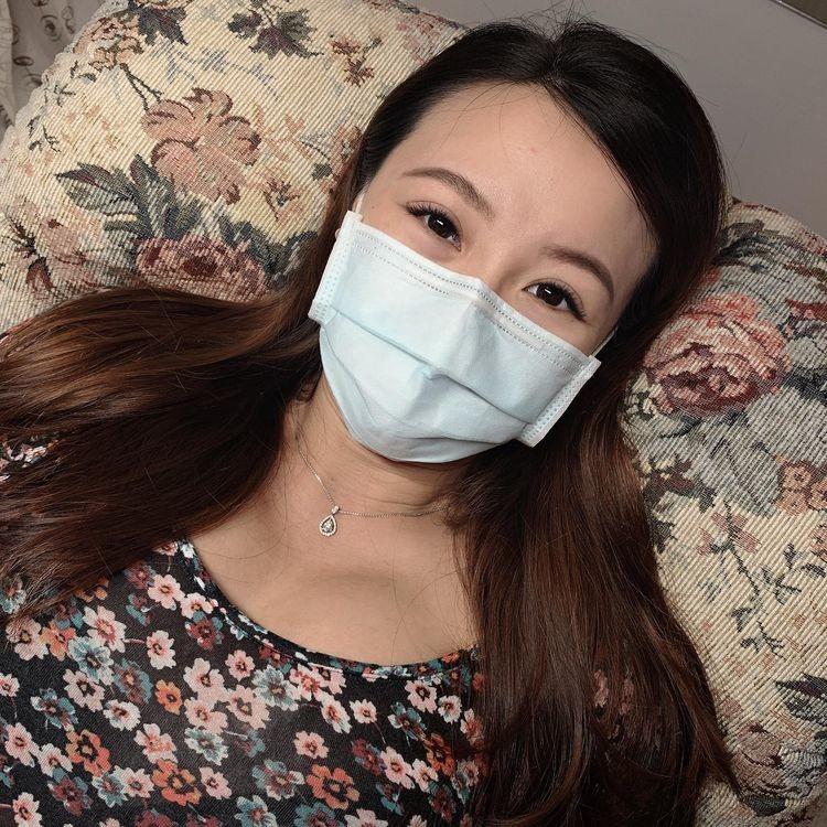 懷孕接睫毛-微濃設計款成品照片公開|台北市中山站 IA專業美睫設計