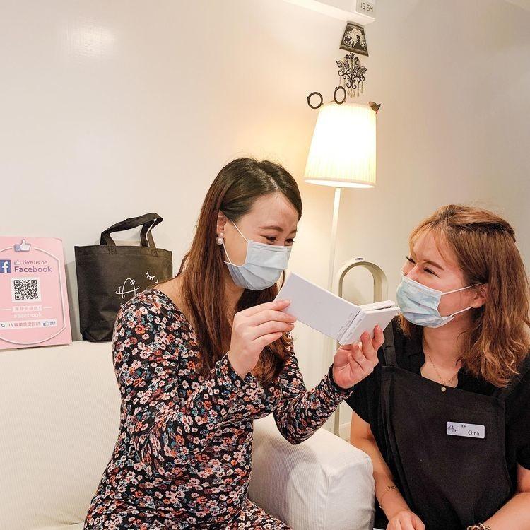 懷孕接睫毛-嫁接成品展示|台北市中山站 IA專業美睫設計