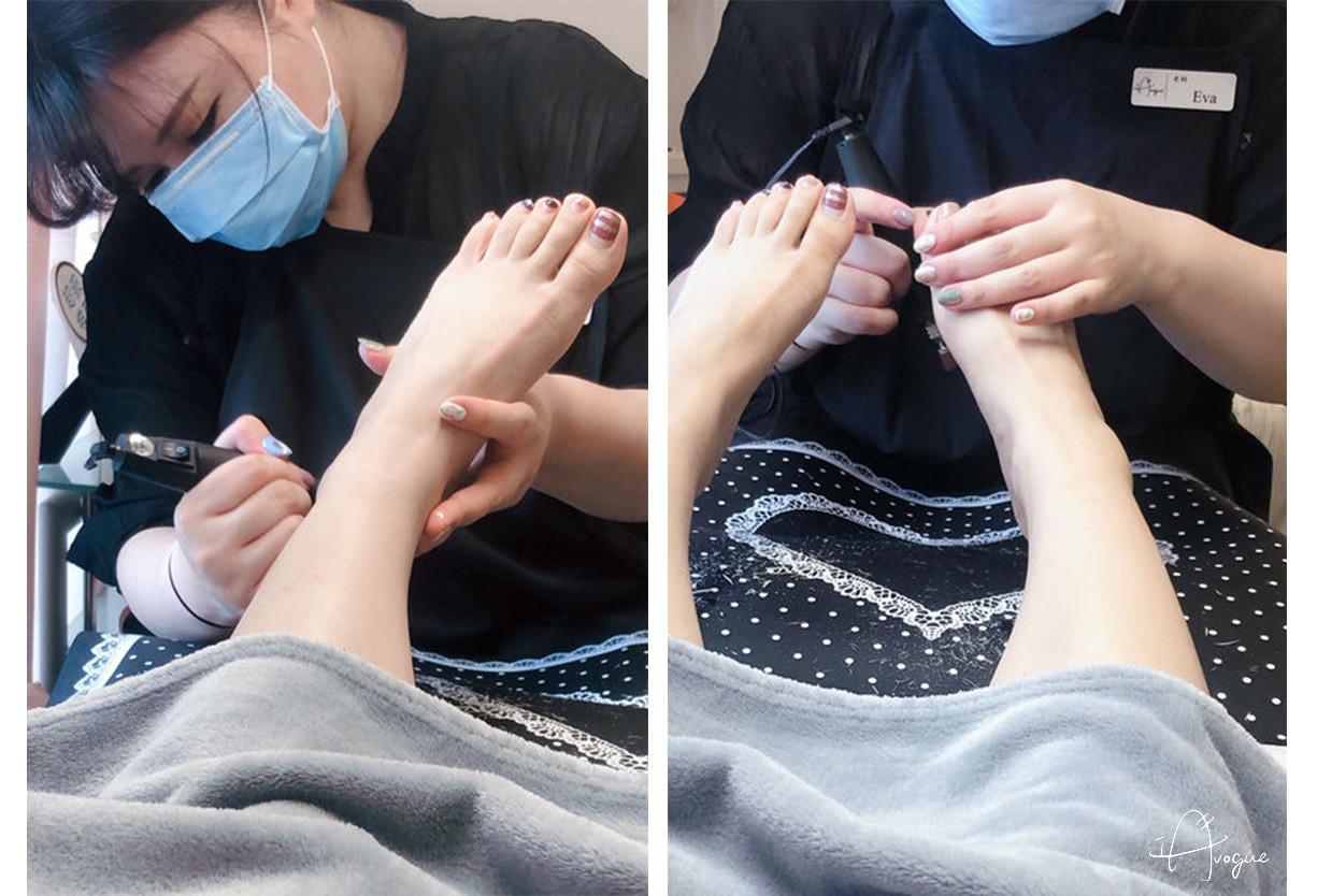 足底細緻美化,和陳年頑固的腳皮說再見|台北中山區 IA專業美睫設計