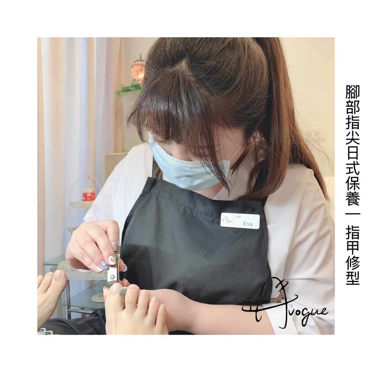 腳底指甲修整形狀,台北手足保養推薦-IA專業美睫設計